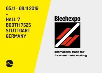 Blechexpo 2019 Stuttgart - Nitty-Gritty