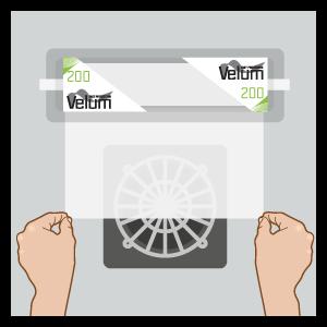 Installazione Velum Fast Protection - Standard