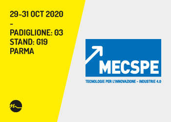 MECSPE 2020 Parma - Nitty-Gritty