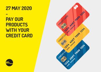 Paga con carta di credito - Nitty-Gritty