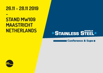 Stainless Steel World 2019 Maastricht - Nitty-Gritty